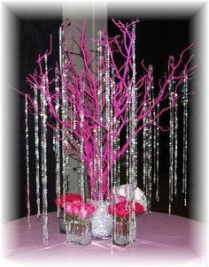 Manzanita Tree | Weddings, | Wedding Forums | WeddingWire Branches, Wedding Ideas, Wedding Decorations, Glass Vase, Pink, Outdoor, Home Decor, Outdoors, Homemade Home Decor