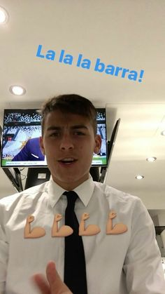 Dybala on his instagram story