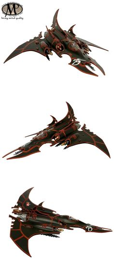 Dark Eldar Razorwing Jetfighter @ heavy metal quality