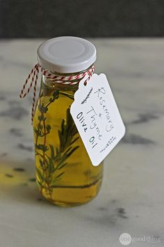 herb- or spice-infused oil for cooking or marinades