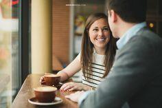 © Anna Lee Media   Oklahoma Engagement & Wedding photographer, coffee shop