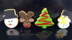 Μπισκότα χριστουγεννιάτικα με λευκή σοκολάτα και ζαχαρόπαστα | ION Sweets