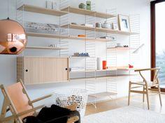 String Shelf Storage System