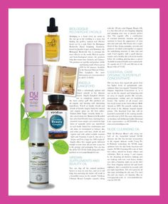 I was extremely proud to be listed among such huge skincare brands, in Ireland's top magazine RSVP Wedding, citing my refreshing upfront and honest attitide.