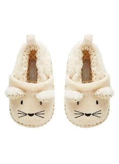 Baby bunny slipper.