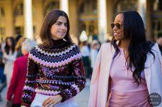 STYLE DU MONDE / Paris Fashion Week SS 2016 Street Style: Leandra Medine and Shiona Turini  // #Fashion, #FashionBlog, #FashionBlogger, #Ootd, #OutfitOfTheDay, #StreetStyle, #Style