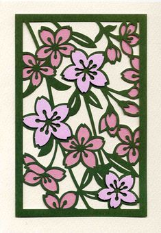 切り絵の芸術性を堪能してください。切り絵作家竹内制作の手拭いやカレンダーの販売もしております。お楽しみ下さい。 Diy And Crafts, Paper Crafts, Sakura Cherry Blossom, Japanese Art, Paper Cutting, Folk Art, Stencils, Mandala, Greeting Cards