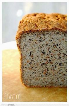 Ciast.Co: Chleb gryczany (bezglutenowy) wtorek, 4 marc… na Stylowi.pl Gluten Free Recipes, Bread Recipes, My Favorite Food, Favorite Recipes, Healthy Candy, Recipes From Heaven, Vegan Foods, Paleo Diet, Food To Make
