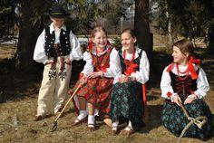 Zespół Pieśni i Tańca Orawianie w stroju Orawskim