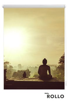 Mein Rollo - das Rollo zum Selbstgestalten.Lass Dich auf www.meinrollo.de inspirieren und finde tolle Rollo-Motive zu den Themen: Reisen, Essen, Kinder, Sprüche & Zitate, Texturen, Muster....Natürlich kannst du auch dein Lieblingsfoto, Urlaubsschnappschuss, oder eigenes Aquarell hochladen. Wir wünschen dir Spaß beim Aussuchen!(Sonnenuntergang, Tempel, Reisen, Buddha,Klemmfixrollo, Fensterdeko)