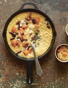 Risotto à la butternut caramélisée au sirop d'érable de Trish Deseine pour 6 personnes - Recettes Elle à Table - Elle à Table