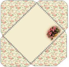 Auf diese Seite finden Sie 5 Schablonen zum ausdrucken um Briefumschläge selber zu falten. Sie sehen wunderschön aus. Machen Sie einfach mit!