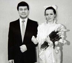 Сергей Селин и первая жена Лариса