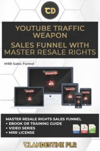 YouTube Traffic Weapon Sales Funnel With Master Resale Rights  | #MasterResaleRightsSaleFunnels #MRRSaleFunnels #MRRProducts #MRR #MasterResaleRights Mini Site, Learning Centers, Audio Books, Weapons, Youtube, Weapons Guns, Guns, Weapon, Youtubers
