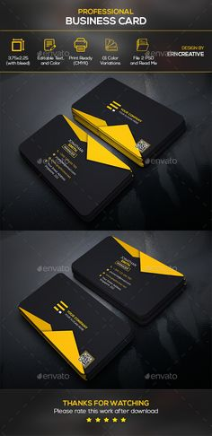 #Business #Card 4 - Business Cards Print Templates