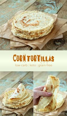 The Best Low-Carb & Keto Tortillas, Taco Shells & Nachos Low Sugar Recipes, Healthy Low Carb Recipes, Low Carb Dinner Recipes, Diet Recipes, Diet Meals, Dessert Recipes, Lunch Recipes, Mexican Recipes, Soup Recipes