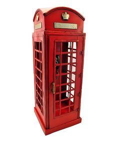 Look at this 1920s London Telephone Booth on #zulily today!