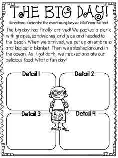 independent close reading passages...PERFECT for first graders!
