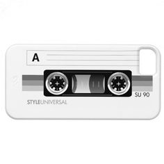 Cassette tape label gray case iPhone 5 covers  $44.95  #iphone #cases #iphone5 #cover #cool #cassette #retro #classic
