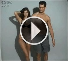 David Gandy gif - this is just the cutest LMAO, everyone needs to be put in their place once in awhile!