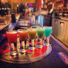 Who wants Rainbow shots? Get together with friends and family for an excellent time at #QuePasaCafe  www.qpmexicancafe.com/locations.html