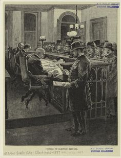 Footing up election returns (1887) #pictureoftheday