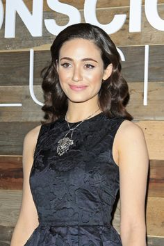 Emmy Rossum learned how to do her own makeup by watching YouTube #tutorials.