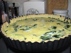 Quiche so špenátom a rukolou - recept Quiche, Pie, Desserts, Food, Torte, Tailgate Desserts, Cake, Deserts, Fruit Cakes