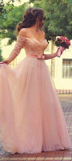 pink prom dresses, off the shouler prom dresses, prom dresses with lace, elegant prom dresses, prom dresses 2016, holiday dressses, dresses for women, womens dresses   dressywomen.com