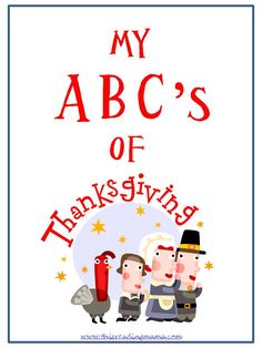 My ABC's of Thanksgiving: 21 Days of Contagious Gratitude |