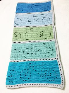 This is a PATTERN for a blanket with a fun repeating bicycle pattern. This is a filet style crochet blanket with rows of bicycles that change directions each row. This pattern includes written directions in US terms and a crochet chart. You can make this blanket in any size as well as any