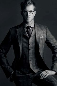 I think it says something about your quality if you can use Black for your advertising like Scabal does. Love it
