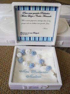 Christening Party, Baptism Party, Baptism Favors, Baptism Gifts, Baptism Ideas, Baby Dedication Invitation, Baby Boy Baptism, Paper Jewelry, Baby Shower Parties