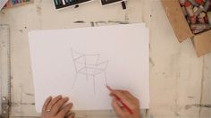 Van inspiratie tot schets met Gerard van den Berg