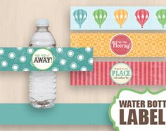 give away a cup or little bottle to keep water