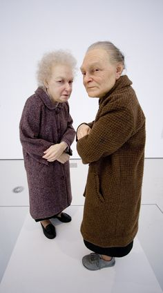 Ron Mueck: Hyper-realistic human sculptures- I honestly find this one a  little creepy. I dont like it.