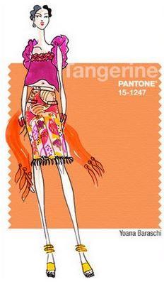 Moda: i Colori primavera estate 2015 nelle 10 Tonalità Pantone Moda colori primavera estate 2015 Tangerine
