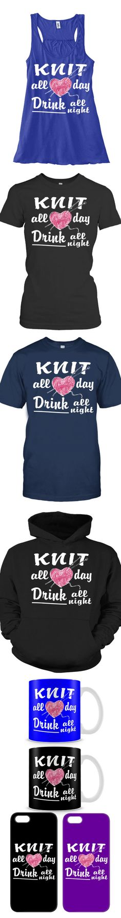 Love Knitting And Drinking? Then Click The Image To Buy It Now or Tag Someone You Want To Buy This For.