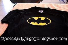 RootsAndWingsCo: Search results for freezer paper batman shirt