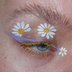 Creative Makeup Looks, Makeup Eye Looks, Eye Makeup Art, Eye Art, Pretty Makeup, Eyeshadow Makeup, Beauty Makeup, Eyeliner, Cute Makeup Looks