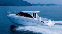 Toyota revealed that the latest version of its Ponam boat range will be a sports cruiser and it will be powered by the same engine that powers the Yacht Design, Boat Design, Toyota, Japanese Market, Climate Change Effects, Super Yachts, Luxury Yachts, Catamaran, Water Crafts