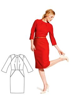 Read the article 'Nice and Bright: 11 New Women's Sewing Patterns' in the BurdaStyle blog 'Daily Thread'.
