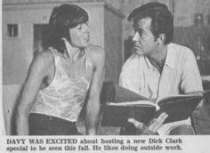 Davy Jones, Dick Clark - Tiger Beat - November, 1969