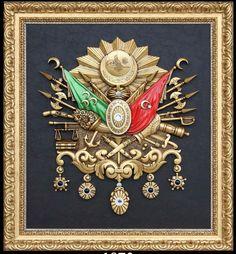 Osmanlı Arması 97x107 cm.