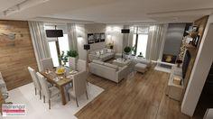 Wnętrze domu w stylu skandynawskim - zdjęcie od marengo-architektura - Salon - Styl Skandynawski - marengo-architektura