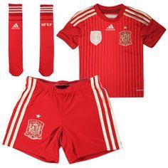 Spain adidas Toddler Soccer Kit – Red