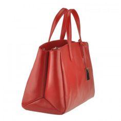 Emilio Masi borsa donna in vera pelle con manici italian leather woman handbags | eBay