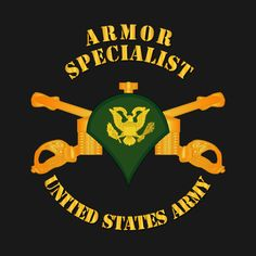 Check out this awesome 'Armor+-+Enlisted+-+Specialist+-+SPC' design on @TeePublic!