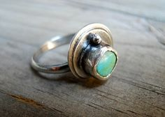 SALE  Turquoise Sterling Silver Ring by patinaware on Etsy, $42.00