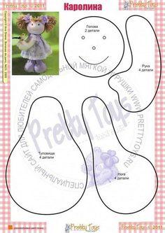 Best 12 Rag doll pdf pattern by LiliaArtShop. Doll making tutorial for Rag doll sewing doll pattern Doll body Rag doll tutorial Soft doll pattern Blank doll body artdoll dolls kidsroom – SkillOfKing. Doll Sewing Patterns, Sewing Dolls, Doll Clothes Patterns, Doll Crafts, Diy Doll, Fabric Toys, Fabric Crafts, Doll Tutorial, Soft Dolls